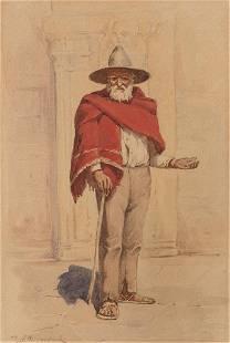 Robert Jenkins Onderdonk (1852-1917), Mexican Man with