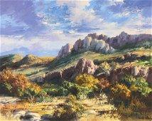"Jose Vives-Atsara (1919-2004), ""Big Bend National Park,"
