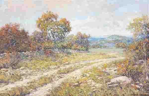 "Robert Harrison (b. 1949), ""Autumn Landscape"""