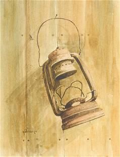 Raul Gutierrez (b. 1935), Lantern