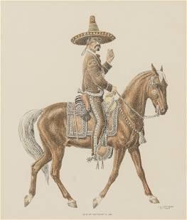 """Jose Cisneros (1910-2009), """"Mexican 'Hacendado' c."""
