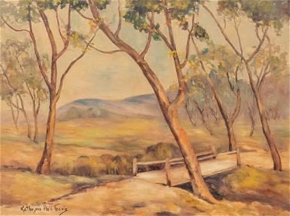 Kathryne Hail Travis (1894-1972), Country Bridge