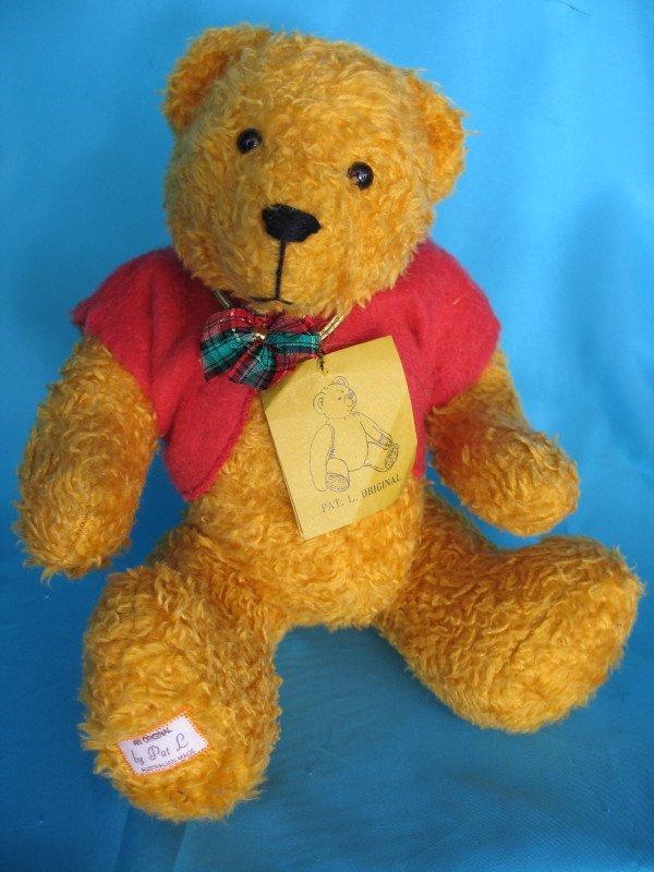 "87. Original artist LE Pat L ""Pooh"" bear"