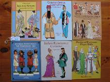 Mixed Paper Doll Books etc Six paper dolls include