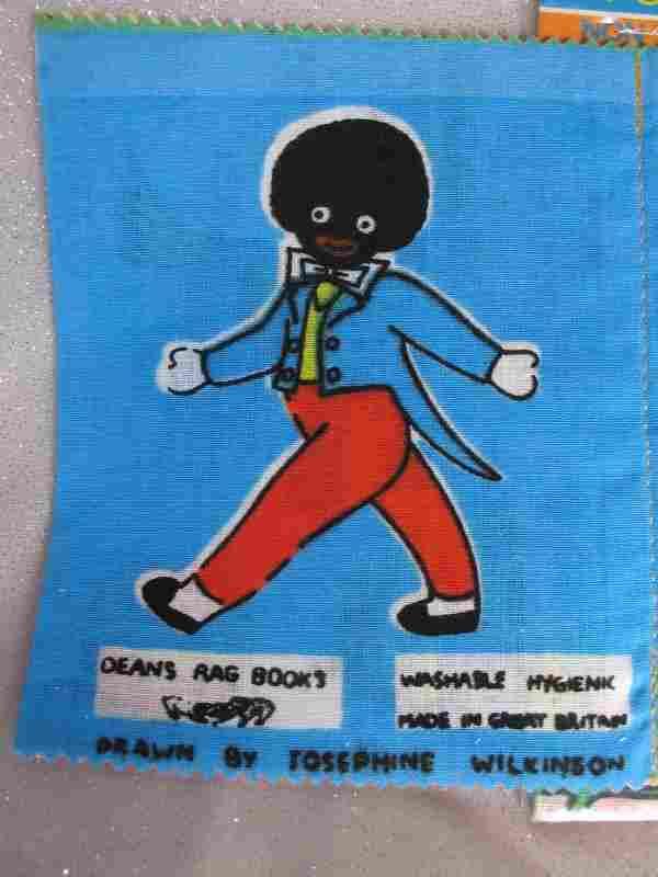 Three mint Dean's Rag Book Co cloth books. Rare 1958