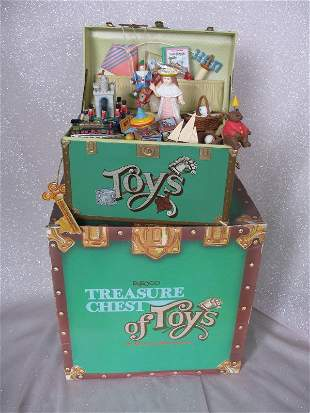 Two MIB Enesco toys. Treasure Chest of Toys 1988 and