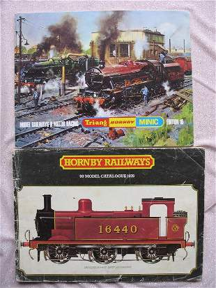 Vintage toy catalogues:- Triang/Hornby 1978 and 1970