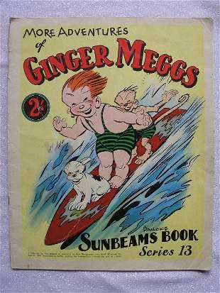 Four Australian Books:- 1936 Ginger Meggs Sunbeams #13.