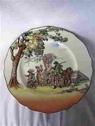 Collector Plates:- Two 26. 5cm Royal Doulton plates,