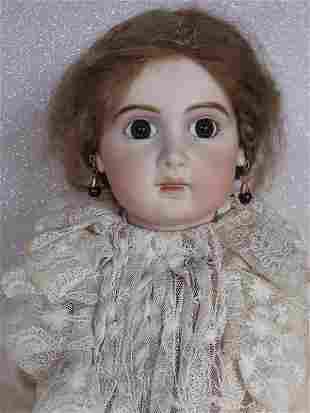 "Porcelain Artist reproduction Jumeau E. J. Bebe 22"""