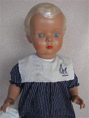 "Tortulon Schildkrot ""Hans"" 1980-90s boy 56cm. Pearlite"