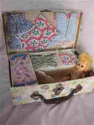 Mixed Dolls/Parts:- includes 1940s 15cm composition