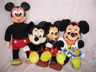Eleven Walt Disney Mickey Mouse Toys, include mostly