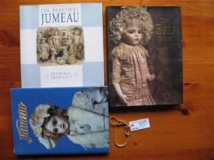 Three French Doll Reference books:- Revised Bru