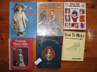 Eleven Doll books:- include Rare Character