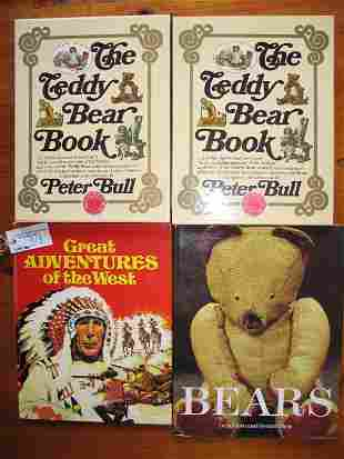 """Two copies of 1983 Peter Bull """"The Teddy Bear Book"""""""
