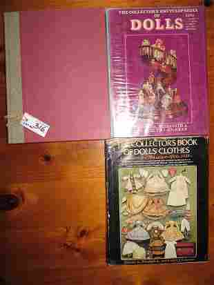 Three Colemans Doll collector books. Collector's