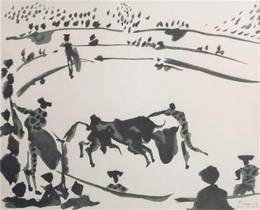 Pablo Picasso (1881-1973): Bullfighting (Corrida),