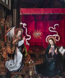Flemisch school, after Hugo van der Goes (1440-1482):