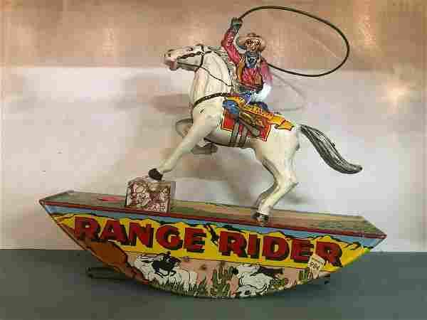 Genuine Marx Range Rider Toy In Excellent Condition
