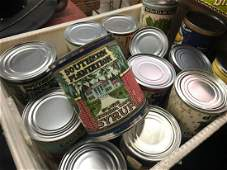 Large Collection Of Assorted Advertising Cans