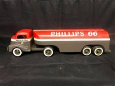 "Pressed Steel Phillips 66 ""Hardin Oil Co. Inc.."" Truck"