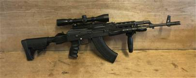 GP WASP 1964 FG4254 7.62X39 WITH SCOPE AND EXTRA CLIP