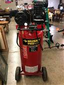 Husky Pro Cast Iron Air Compressor 30 Gal 2.0 Hp Motor