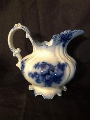"""PETITE FLOW BLUE PITCHER (6"""")"""