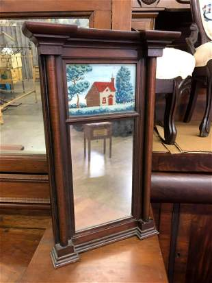 ANTIQUE MIRROR MADE BY LOCAL ARTIST
