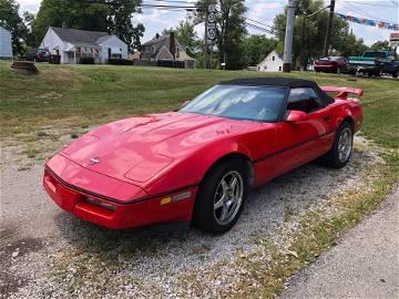 1990 Corvette Runs, Drives