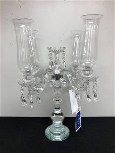 """Large Crystal Candelabra (24"""")"""