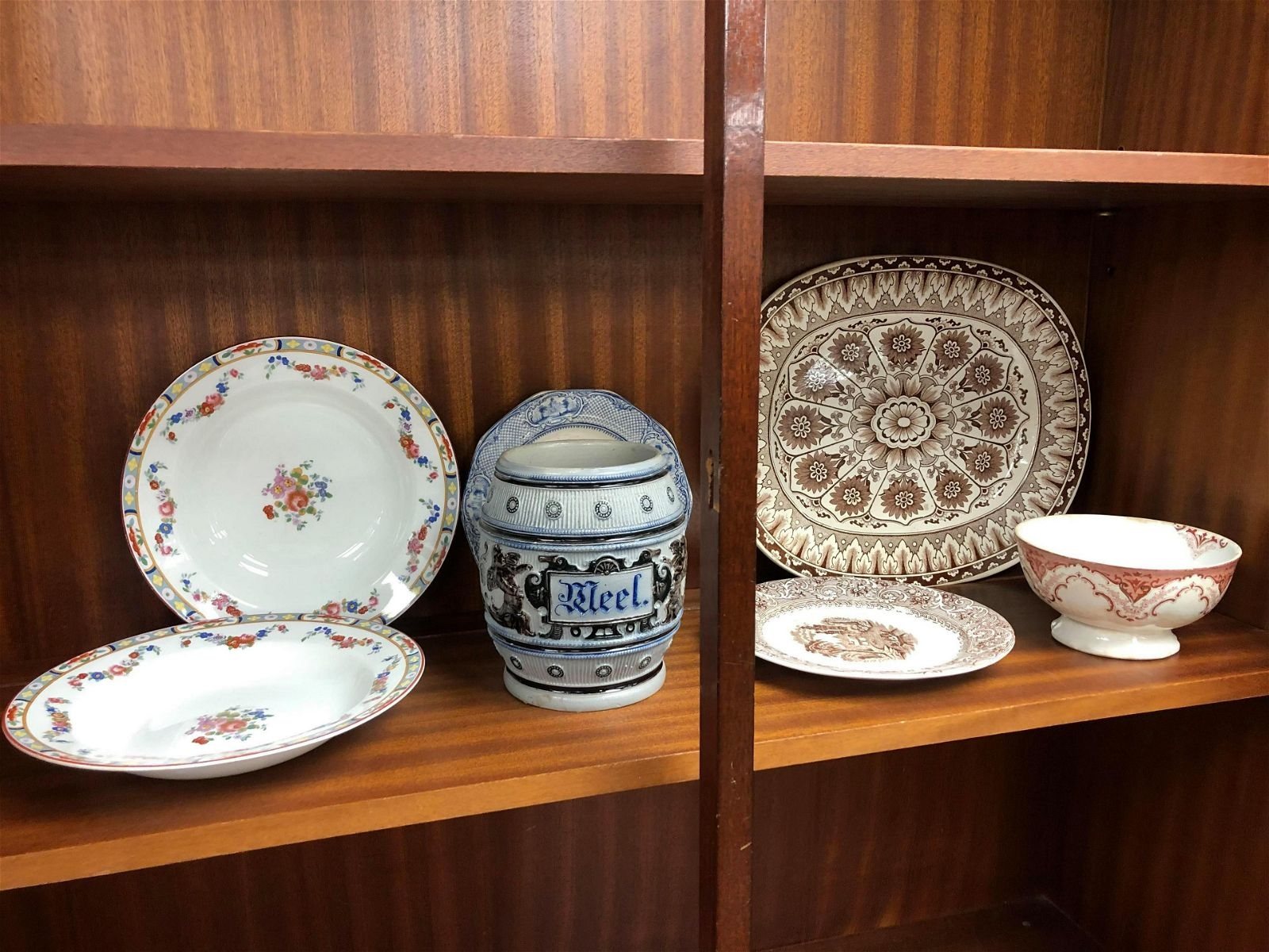 Collection Of English Platters/Pottery