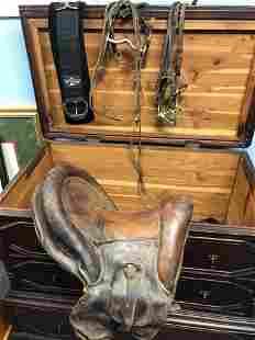 Old Saddle, Bits, Bridles, etc.