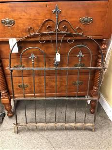 Antique Wrought Iron Gate (4'x3')