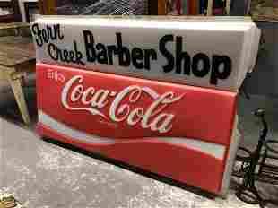 Fern Creek Barber Shop/Coca-Cola Sign
