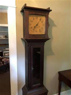 Early Antique Victorian Ithaca Grandfather Clock