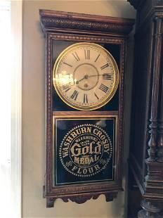 Washburn Crosby Flour Gold Medal Wall Clock