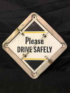 TRUCK SAFETY SIGNS/MARKERS