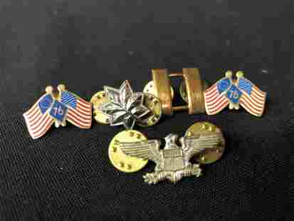 COLLECTION OF PATRIOTIC PINS