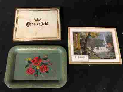 CHESTERFIELD, D & D HARDWARE, METAL TRAY
