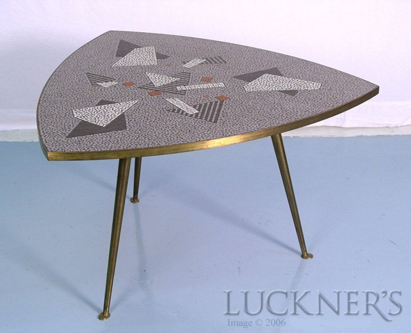 1: A Mid-Century Modern Mosaic Coffee Table