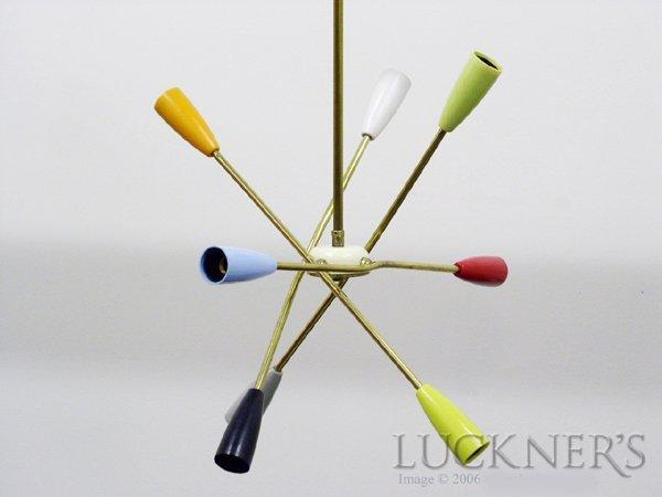2: A Mid-Century Modern Sputnik Lamp
