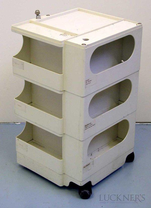 3: A Joe Colombo Plastic Boby Trolley