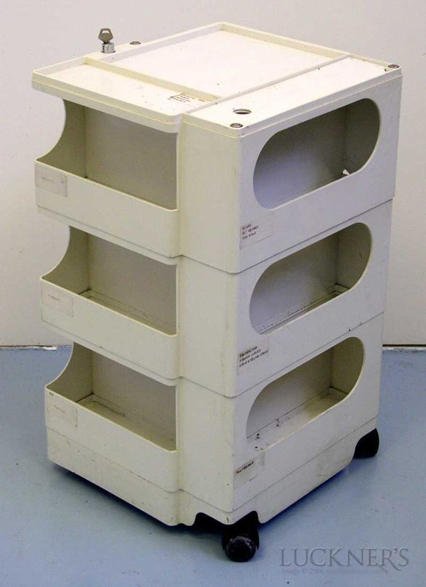 3: A Joe Colombo Plastic Boby Trolley