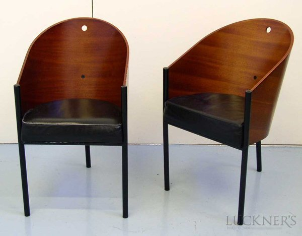 8: Pair of Philippe Starck Costes Chairs
