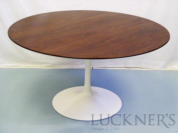 11: Eero Saarinen Tulip Table in Walnut