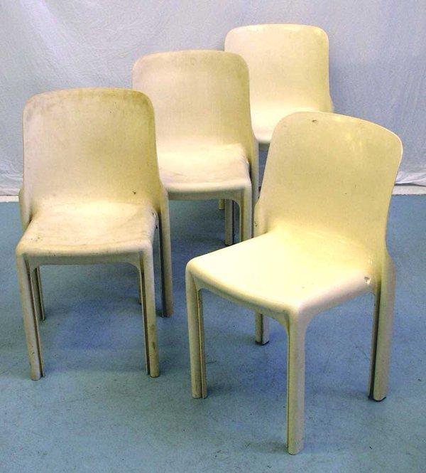 17: Magistretti Selene Chairs Artemide