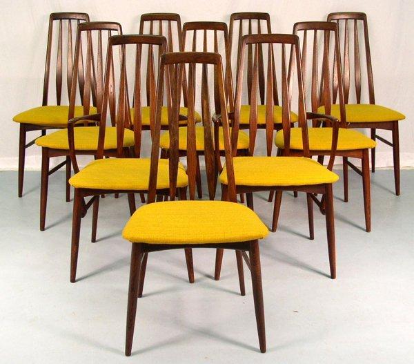 19: Set of 8 Danish Dining Chairs