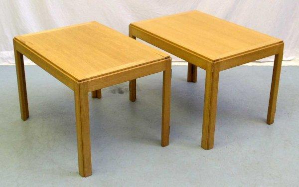 22A: Borge Mogensen Side Tables